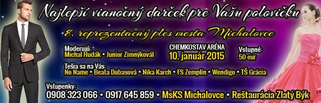 8. Reprezentačný ples mesta Michalovce